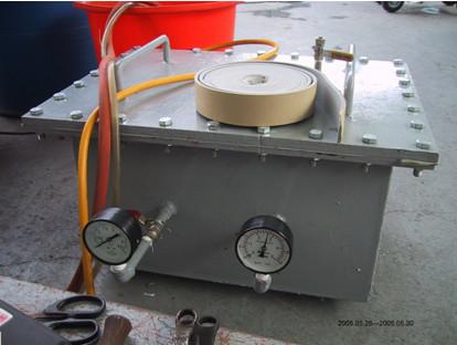 保溫膠帶水壓試驗機