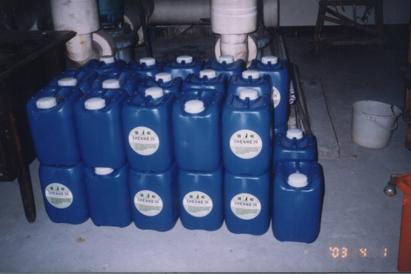 現場使用 SHENHO 26高濃度除垢劑