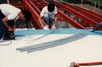 實際運用範例:鐵皮屋屋頂使用十全龍保溫板隔熱