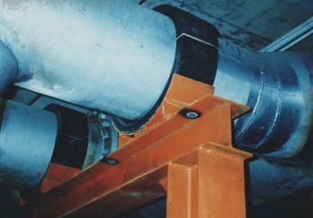直徑26 英吋空調系統冰水管路使用 O-型福樂力管墊