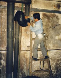 冷凍廠液氨系統管路使用十全龍保溫管保溫