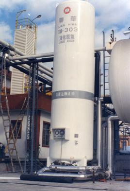 聯華液態氮管路使用十全龍保溫管保溫
